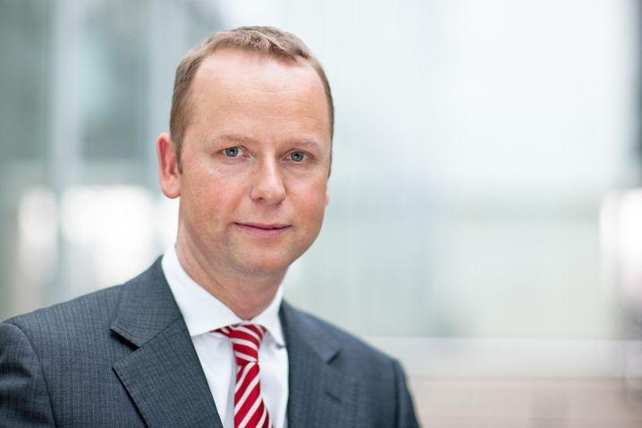 Vertrauensträger: Henning Gebhardt, Starmanager im Aktiengeschäft, verlässt die Deutsche Bank.