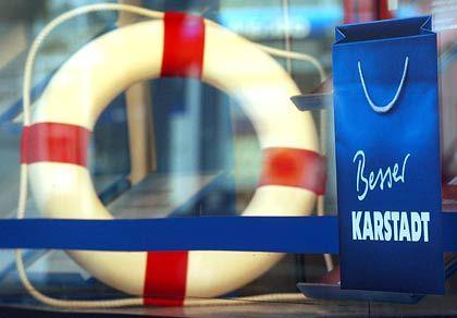 Gerettet: Nach der Einigung mit den Aktionären kann der Karstadt-Sanierungsplan wie geplant vollzogen werden