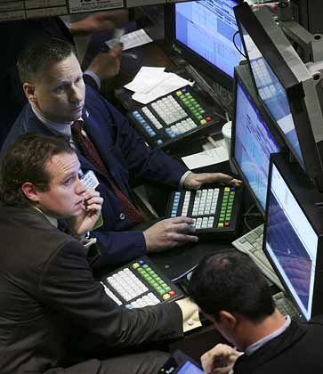 Bange Börsianer: Wann endet die Talfahrt des Dax?