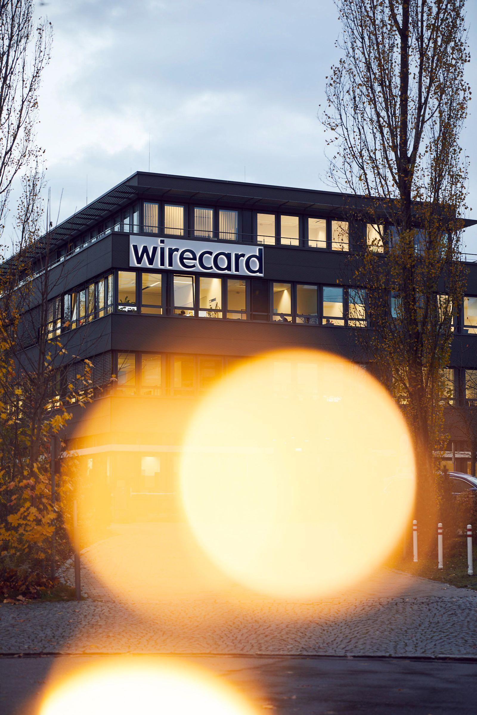 EINMALIGE VERWENDUNG Wirecard Konzernzentrale Aschheim
