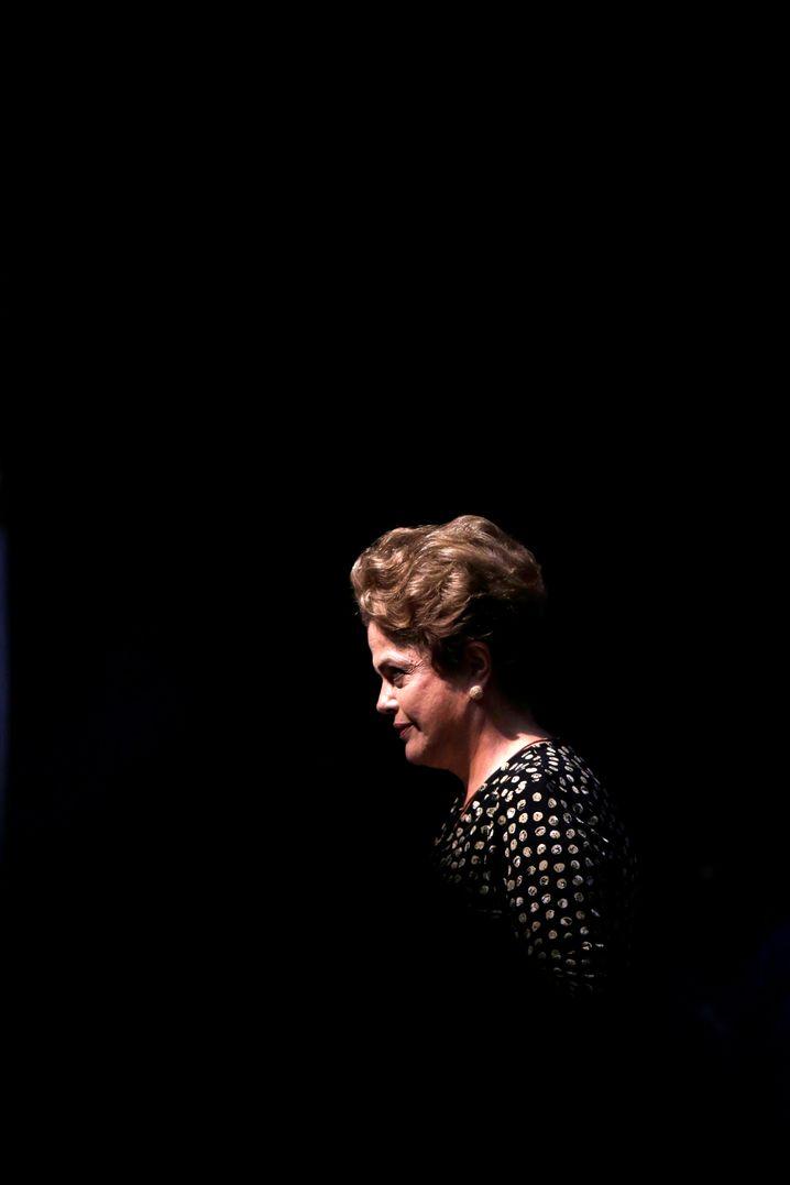 Entschlossen: Dilma Rousseff hat das Präsidentenamt noch nicht aufgegeben