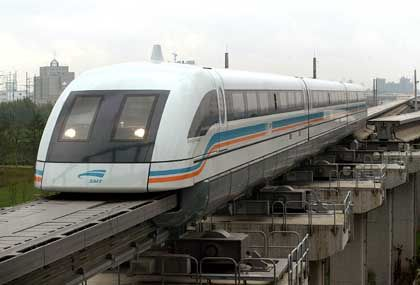 Transrapid in China: Der Transfer von Know-how ist immer Teil des Deals.