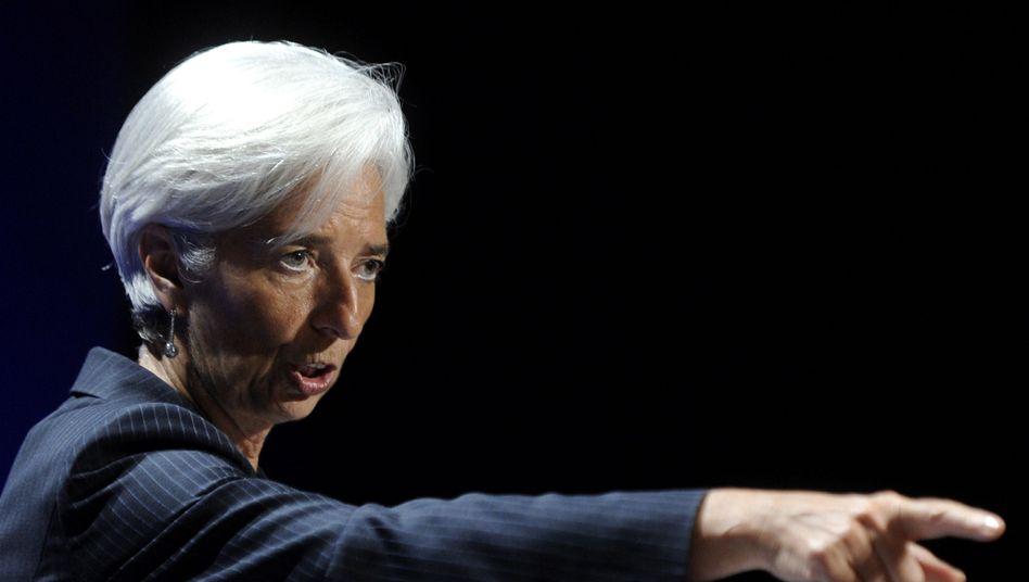 IWF-Chefin Christine Lagarde fordert eine bessere internationale Zusammenarbeit