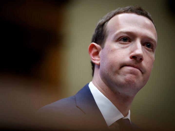 Hat Pläne für eine eigene Währung: Facebook-Chef Mark Zuckerberg.