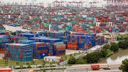 Schiffsstaus in China werden erneut länger