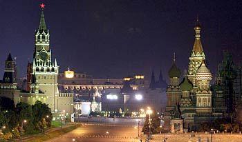 Russische Nacht: Erhellt durch den Rohstoffreichtum