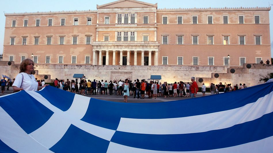 Da nützt aller Protest nichts: In Griechenland müssen Staatsbedienstete um ihre Jobs bangen
