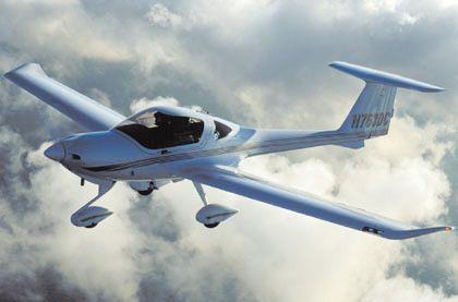 Teures Hobby: Kleinflugzeug von Diamond