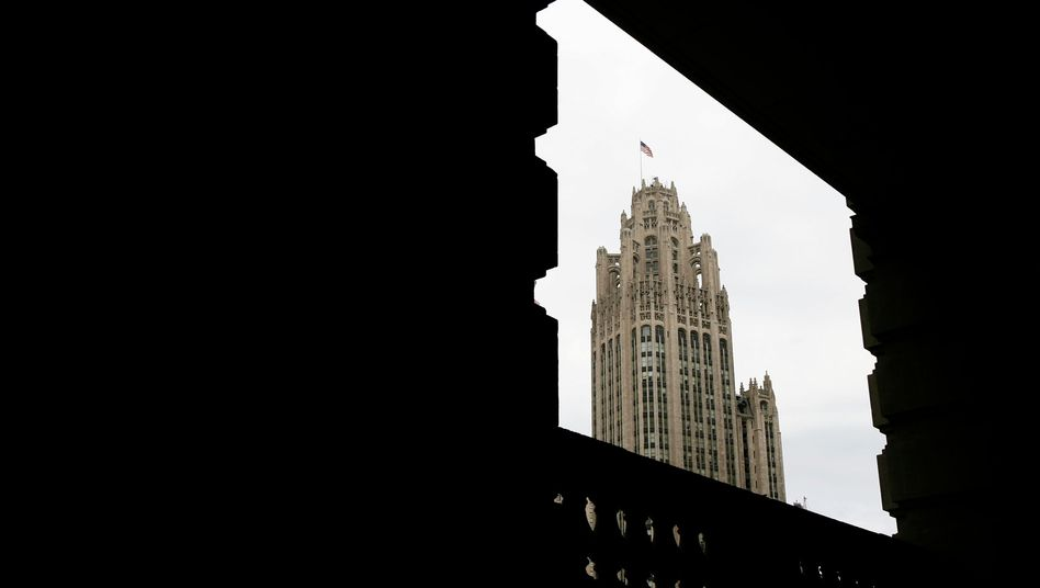 Tribune Tower in Chicago: Symbol verblasster Macht