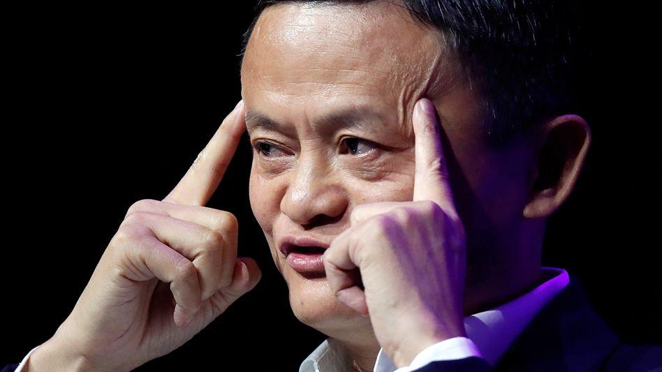 Mit Peking im Dauerclinch: Die Stimmung zwischen Alibaba-Gründer Jack Ma und der politischen Elite Chinas wird frostiger