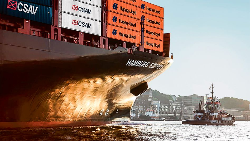 Hapag-Lloyd: 50 Millionen Euro Überschuss im zweiten Quartal - das Containergeschäft nimmt wieder Fahrt auf