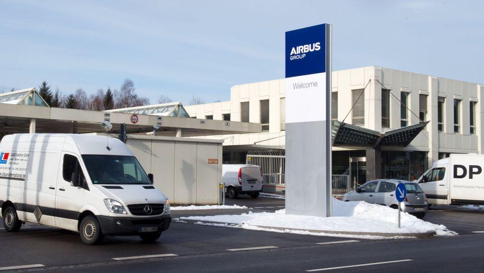 Zentrale der Airbus Group in Ottobrunn: Schauplatz einer entlastenden Razzia.