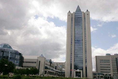 Gazprom-Zentrale: Position der Stärke