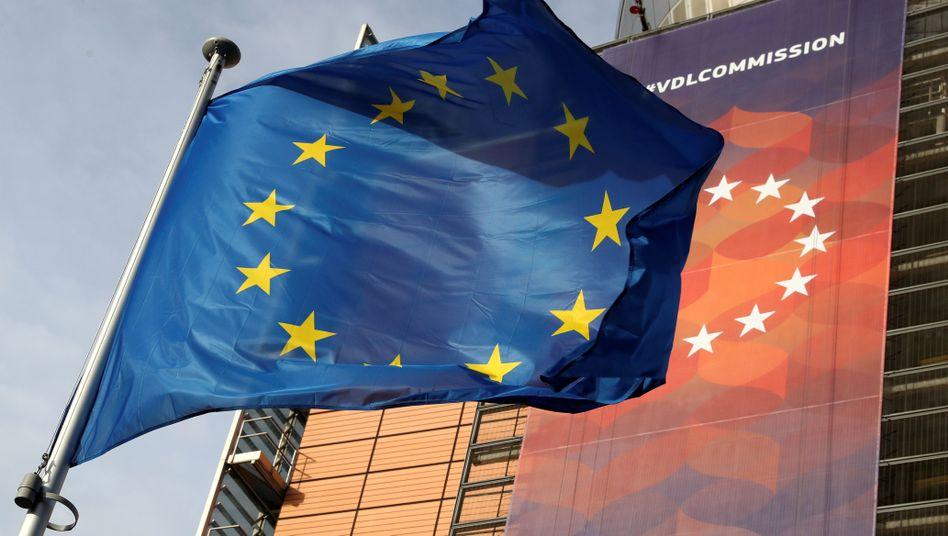 EU-Fahne in Brüssel