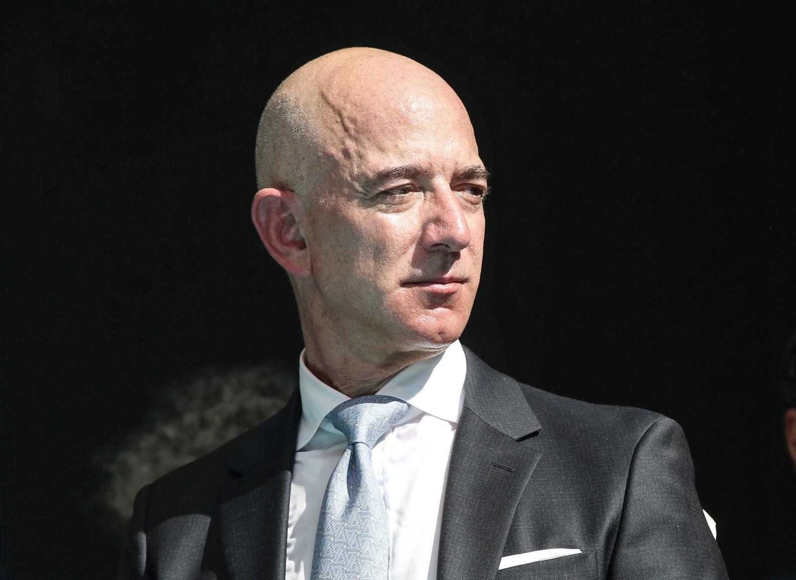 EINMALIGE VERWENDUNG Jeff Bezos