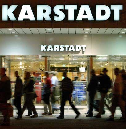 Düstere Bilanz: Der Umsatz bei Karstadt lässt zu wünschen übrig