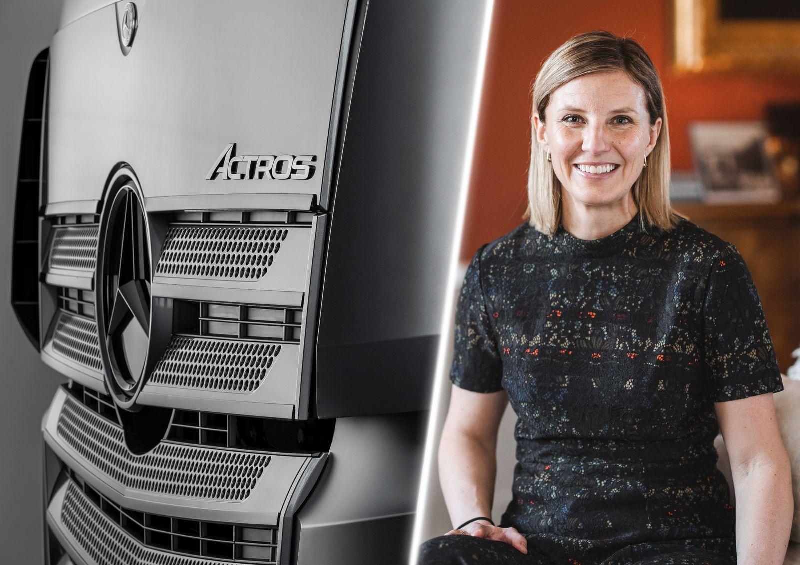 Willkommen an Bord: Karin Rådström übernimmt Leitung von Mercedes-Benz Lkw Welcome on board: Karin Rådström takes over management of Mercedes-Benz Trucks