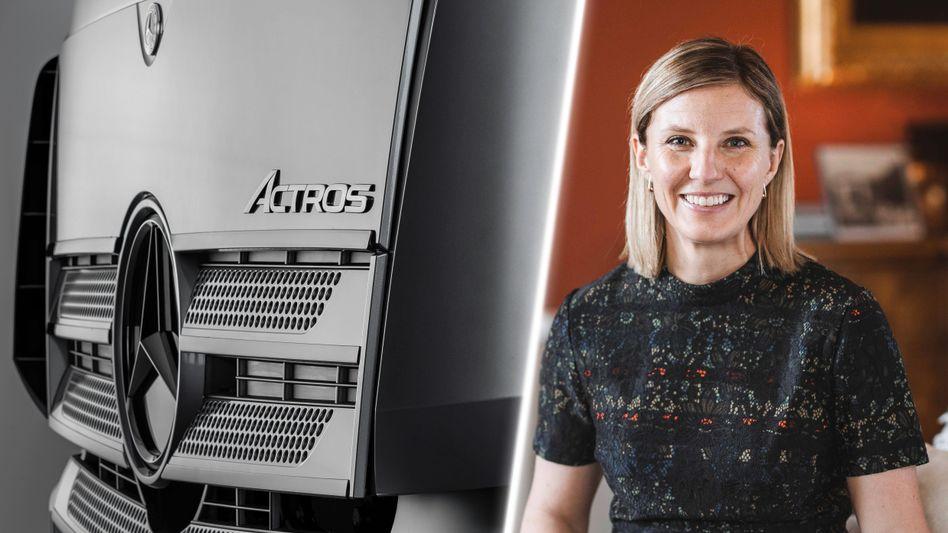 Neues Vorstandsmitglied der Truck AG: Karin Radström übernimmt die Verantwortung für Mercedes-Benz Lkw