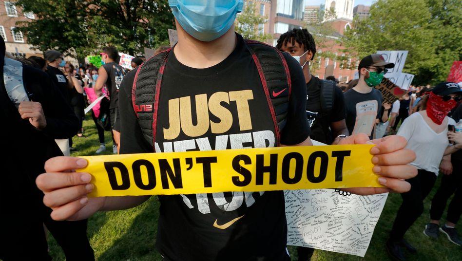 Der Tod des Afroamerikaners George Floyd haben zu heftigen Protesten quer durch die USA geführt