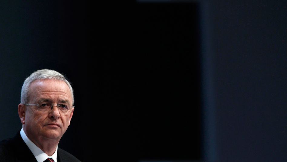 "VW-Chef Winterkorn: ""Bin mir keines Fehlverhaltens bewusst"""