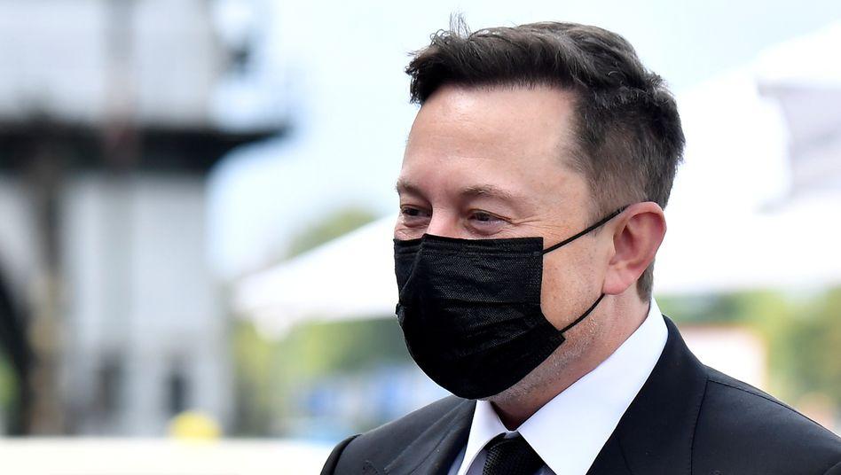 Liebling der Börse: Tesla-Chef Elon Musk
