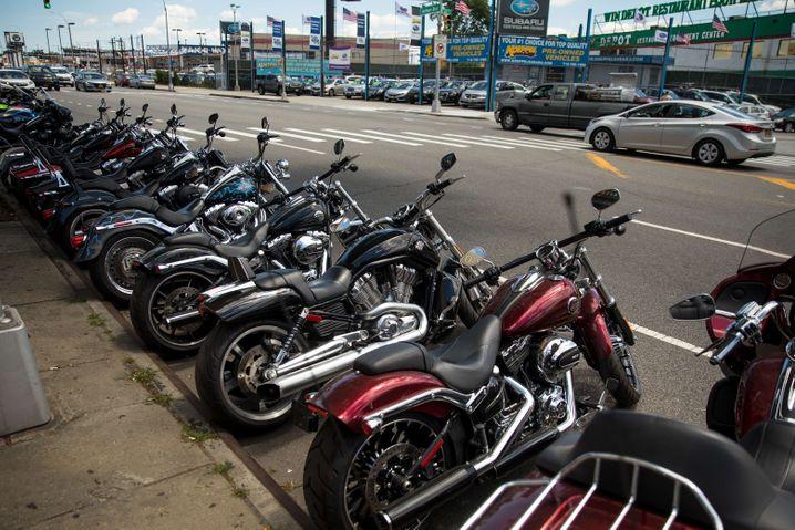 Harley-Davidson-Händler in New York