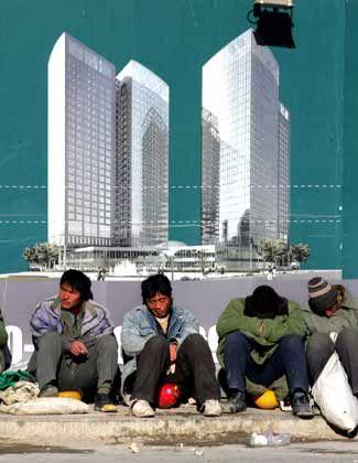 Gewaltige soziale Herausforderungen: Tagelöhner in China
