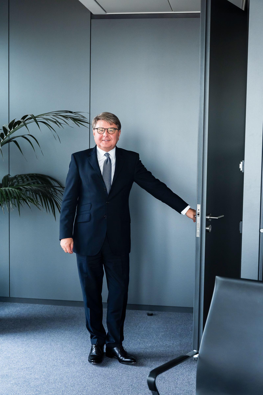 Portrait Theodor Weimer, Deutsche Börse Frankfurt