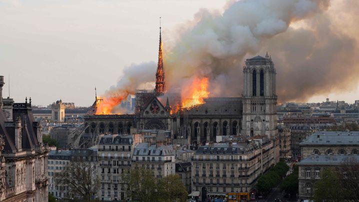 Wiederaufbau: Die Spender von Notre-Dame