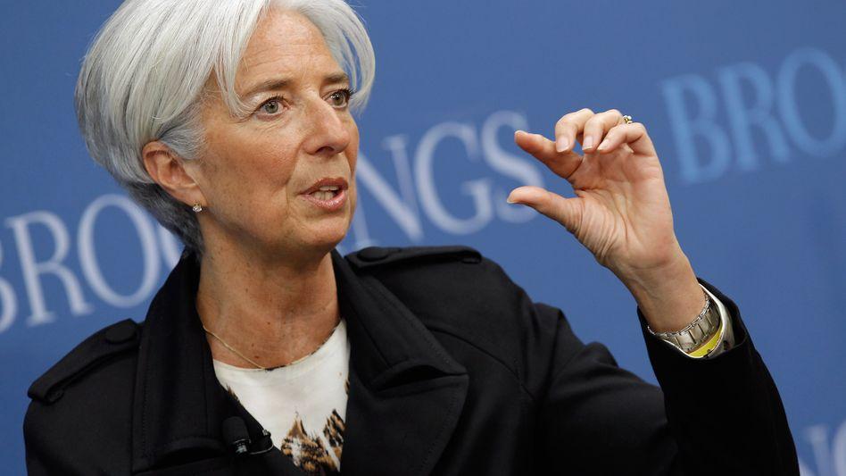 Christine Lagarde: Die IWF-Chefin hatte sich für eine höhere Aufstockung ausgesprochen