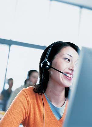 Hilfe per Telefon: Nicht immer sorgte die Hotlineberatung auf beiden Seiten für Zufriedenheit