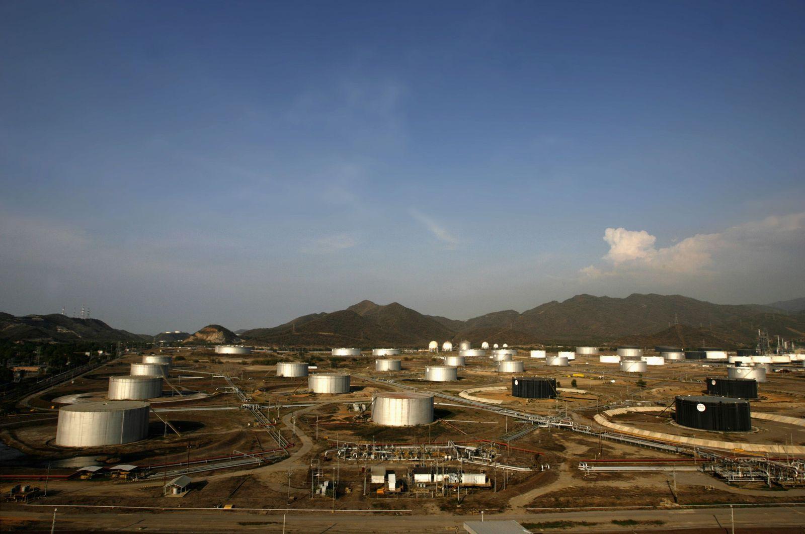 Venezuela Öl Raffinerien