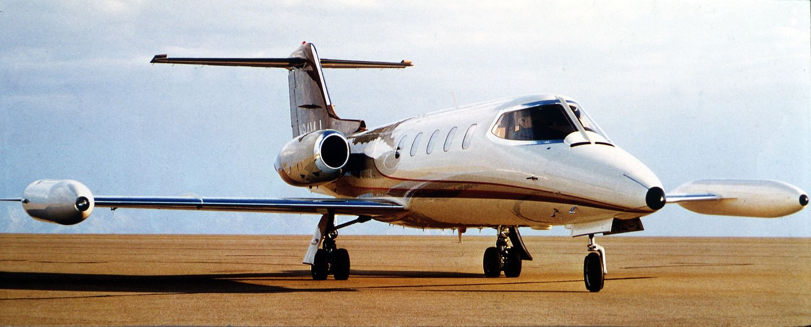 Flugzeugabsturz Learjet (Archiv)