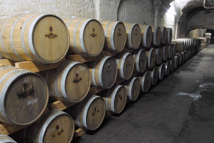 Flüssiger Schatz im Kellergewölbe: 6180 Flaschen hat die Whiskykooperation von der Badischen Staatsbrauerei in Rothaus und der Destillerie Kammer-Kirsch in Karlsruhe in diesem Jahr abgefüllt.
