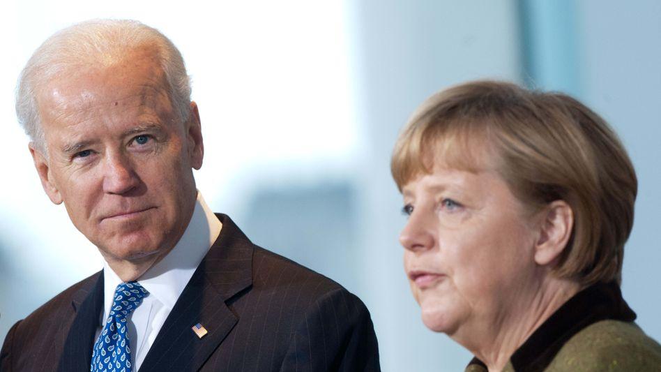 Abschiedsbesuch in den USA: Bundeskanzlerin Angela Merkel tritt ihre letzte Amtsreise in die USA, zu US-Präsident Joe Biden, an