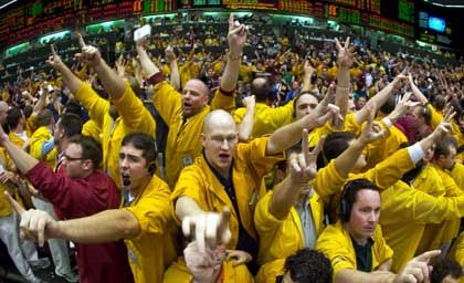 Händler an der Chicago Mercantile Exchange: Dumpingtarife zur Abwehr der Eurex US?
