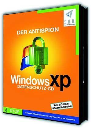 Anti-Spyware: Packshot Anti Spion, nicht von Microsoft