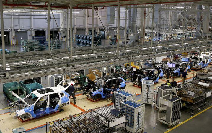 BMW will in sein US-Werk in Spartanburg investieren
