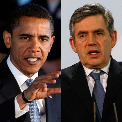Angelsächsisches Duo: Beide wollen die Finanzmärkte stärker kontrolieren