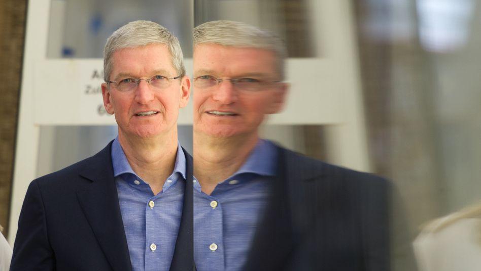 Kandidat für die Hall of Fame der Geldschneider: Apple-Chef Tim Cook
