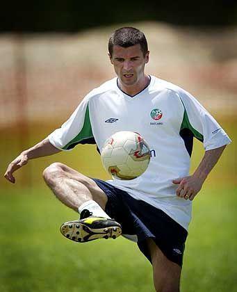 Umstrittener Spielmacher: Irlands Superstar Roy Keane
