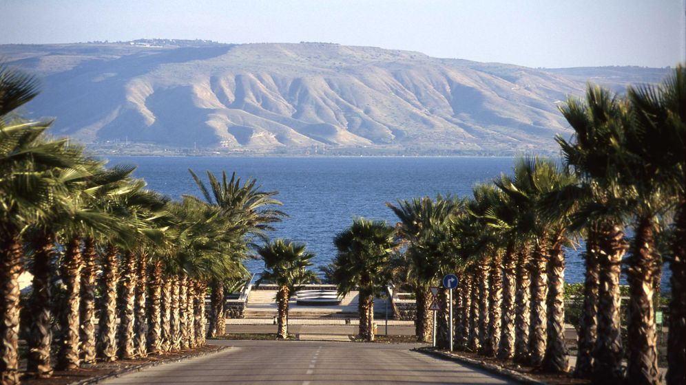 See Genezareth: Mit dem Fahrrad am Ufer entlang