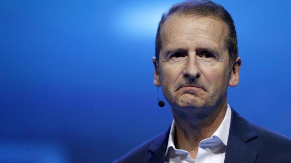"""VW-Markenvorstand Herbert Diess: """"Ein großer Schritt nach vorne"""""""