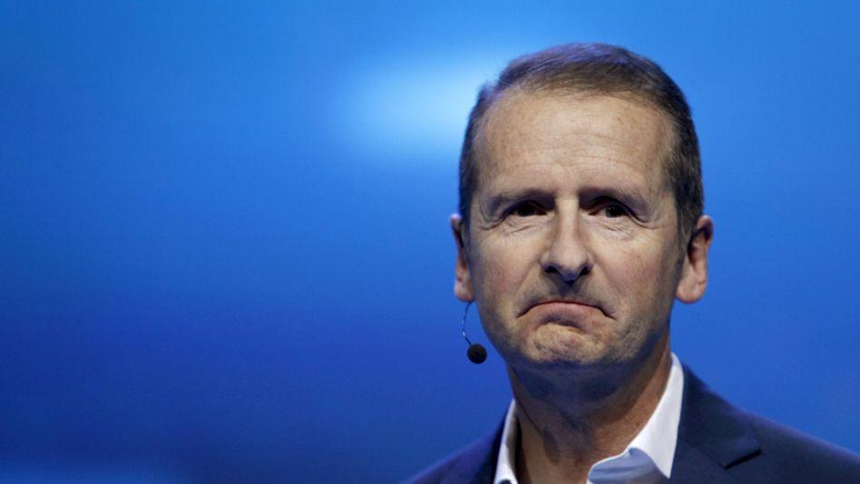 Hätte, hätte: Volkswagen-Chef Herbert Diess lag 2015 offenbar ein Jobangebot von Tesla vor