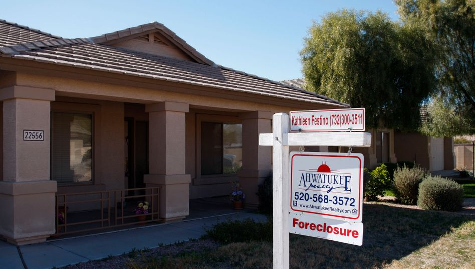 Families in the West took the biggest hit in median net worth between 2007 and 2010 as California, Nevada and Arizona saw sharp drops in home values. Above, a Maricopa, Ariz., home in foreclosure in 2009.