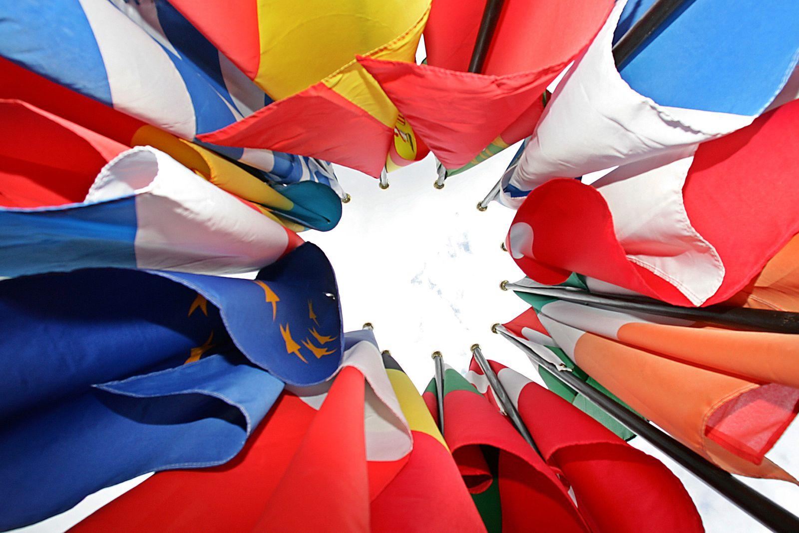 Flaggen der Mitgliedsstaaten der Europäischen Union