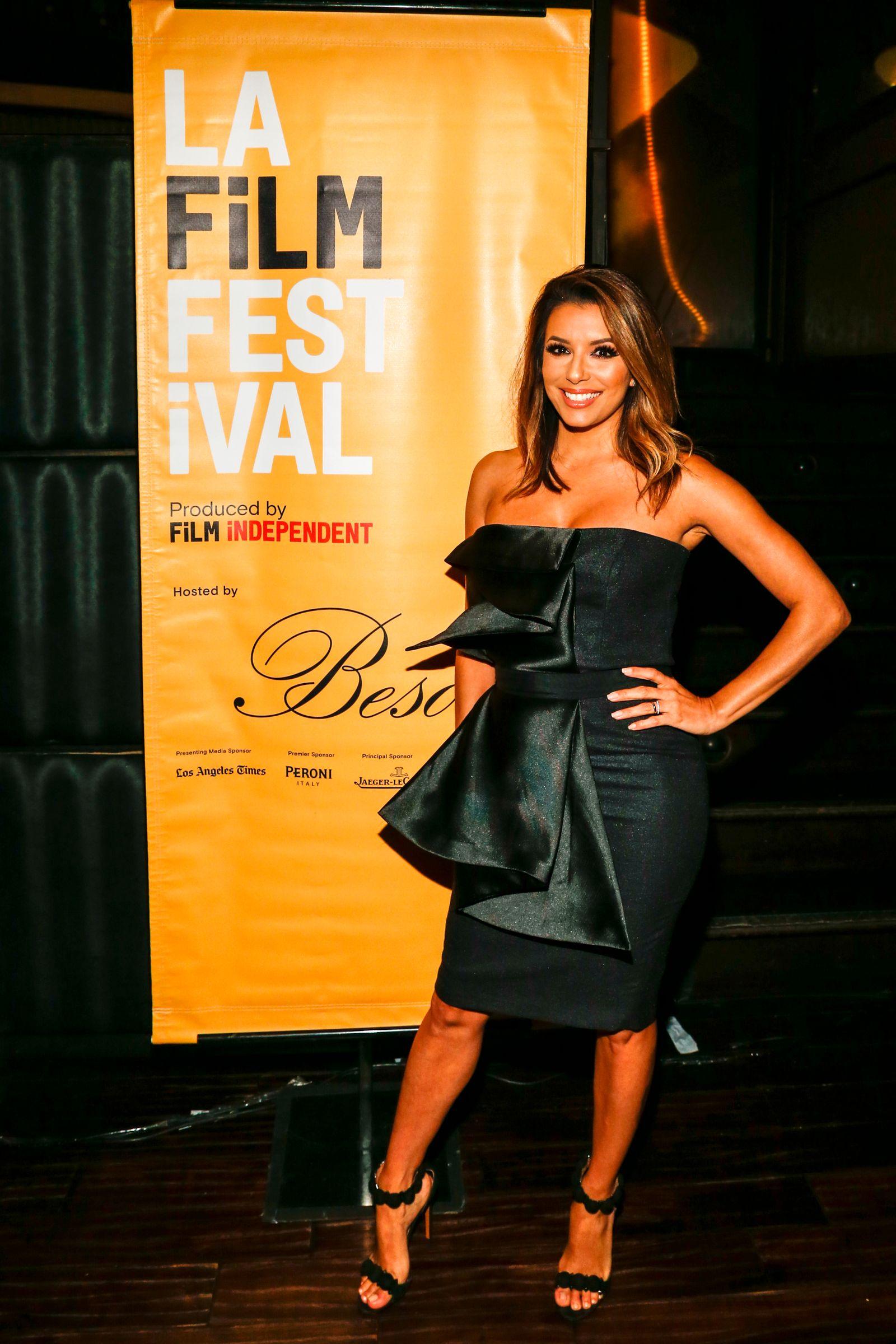 """Eva Longoria: """"Beso Hollywood"""", Los Angeles"""