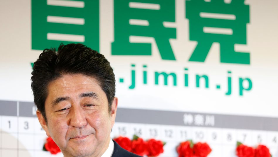 """Shinzo Abe: Die Resultate der """"Abenomics"""" sind bescheiden"""