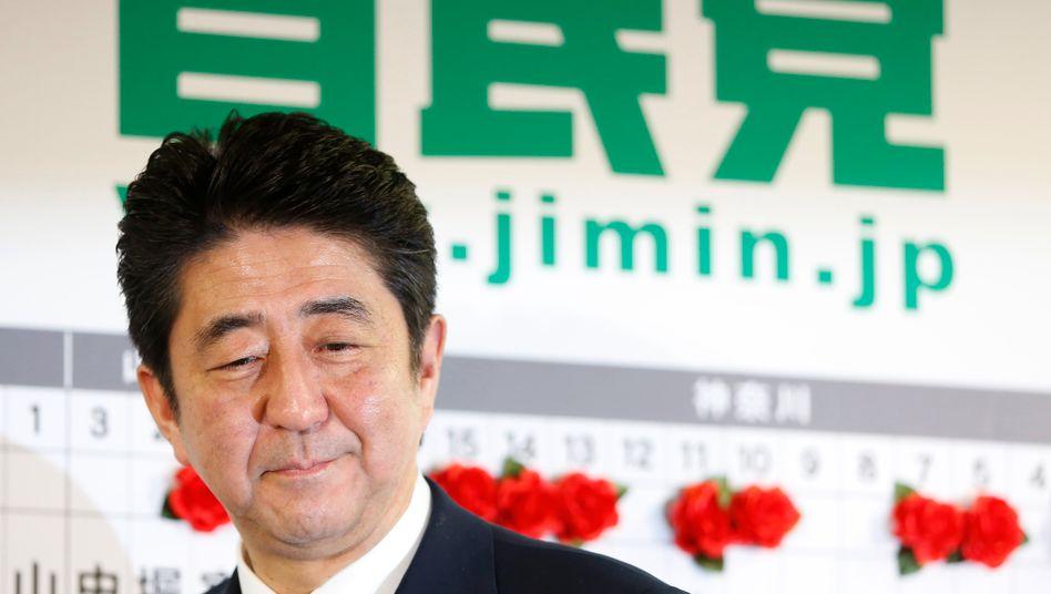 Japans Ministerpräsident ShinzoAbe
