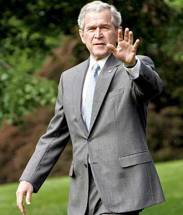 Präsident Bush: Loyalität wichtiger als Kompetenz